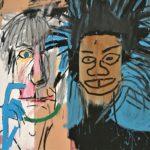 Dos Cabezas, 2 hoofden, 1982, Basquiat. Andy & Jean
