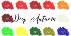 Kleurenanalyse Intense Herfst