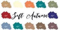 Kleurenanalyse softe herfst