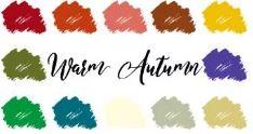 Kleurenanalyse Warme herfst