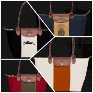 Gepersonalisseerde Longchamp tassen