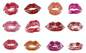 Vaarwel lippenstift kisses