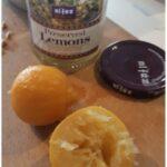 opgelegde citroen