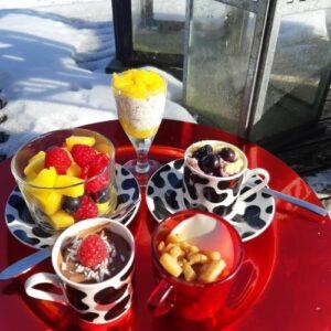 koolhydraatarm dessertbord